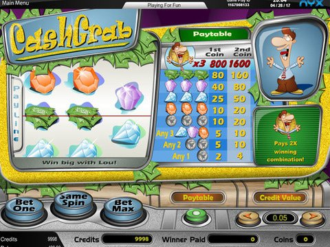 Cash Grab Game Preview