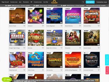 Casimba Casino Software Preview