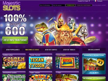 Casino Majestic Slots Software Preview