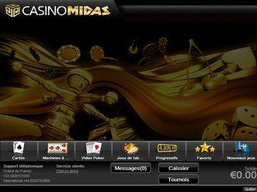 Casino Midas Software Preview