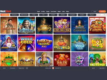 Casino NetBet Software Preview