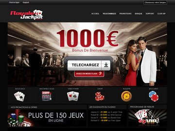 Casino Royale Jackpot Homepage Preview