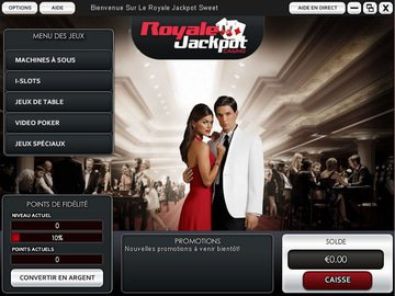 Casino Royale Jackpot Software Preview