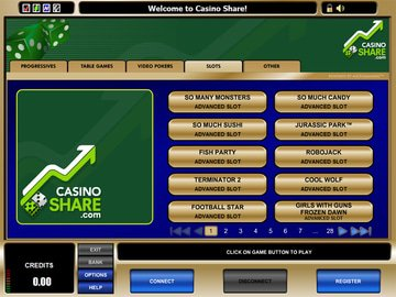 Casino share casino gambling game line