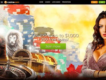 Casino.Com Homepage Preview