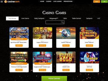 Casino.Com Software Preview