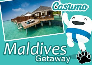 Casumo Casino Maldives Giveaway Promotion