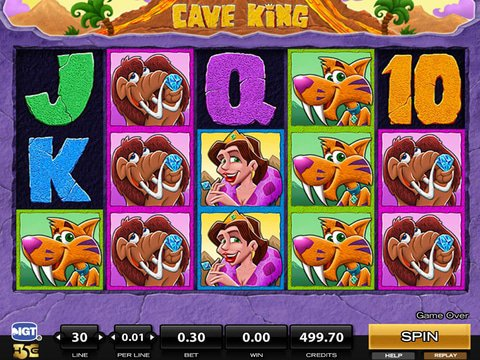 Cave King Game Preview