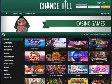 ChanceHill Casino Software Preview