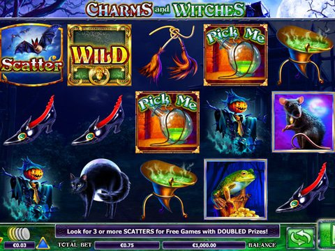 Charms and Witches Game Preview