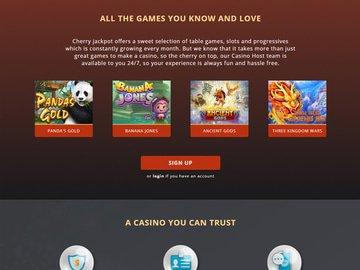 CherryJackpot Software Preview