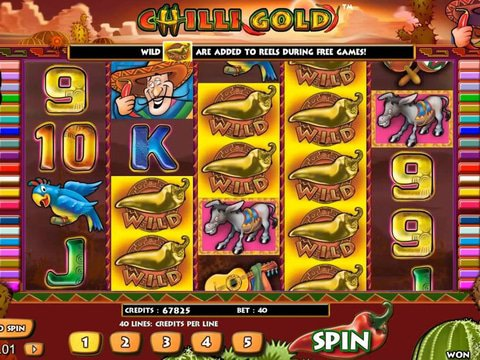 Play Chilli Gold online with no registration required!