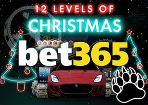 Bet365 12 Levels of Christmas - Cars, Cash and Free Spins