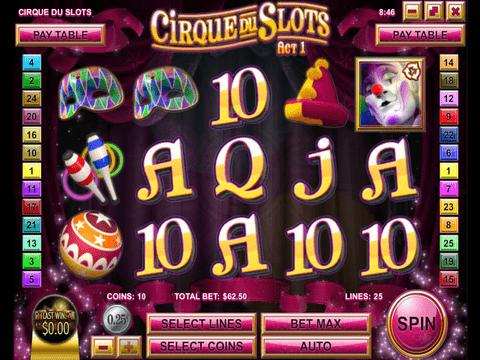 Cirque Du Slots Game Preview