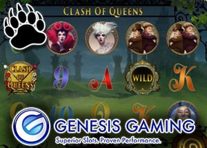New Clash of the Queens™ Slot offers Unique and Immersive Gameplay