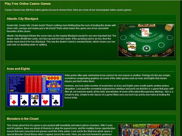 Classic Casino Software Preview
