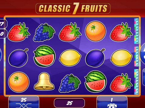 Classic 7 Fruits slots is a MrSlotty powered game that requires no download and has nice game-play f