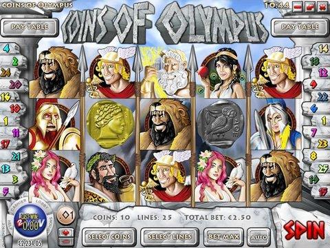 Coins of olympus rival casino slots track buffalo