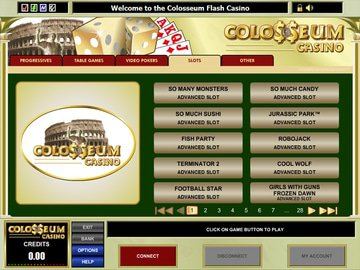 Colosseum Casino Software Preview