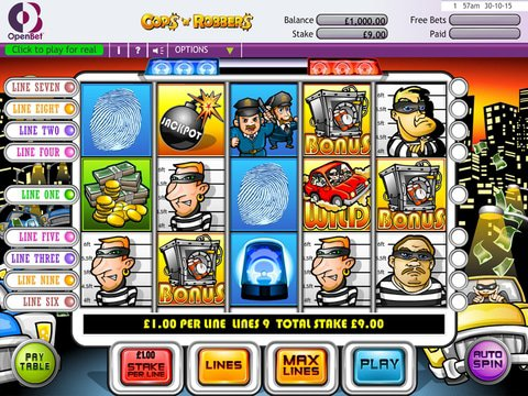 Cops n Robbers Game Preview