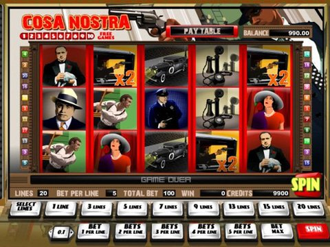 Cosa Nostra Game Preview