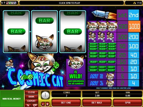 Cosmic Cat Game Preview