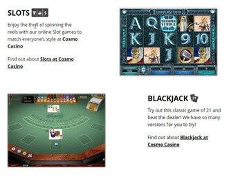 Cosmo Casino Software Preview