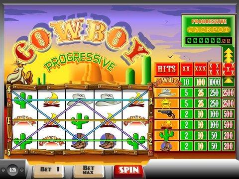 Cowboy Progressive Game Preview