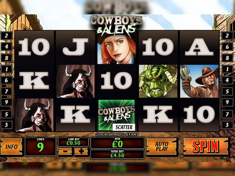 Cowboys & Aliens Game Preview