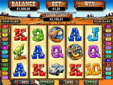 Play Coyote Cash Slot Machine Free With No Download