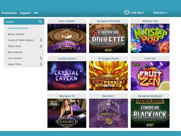 Cozyno Casino Software Preview