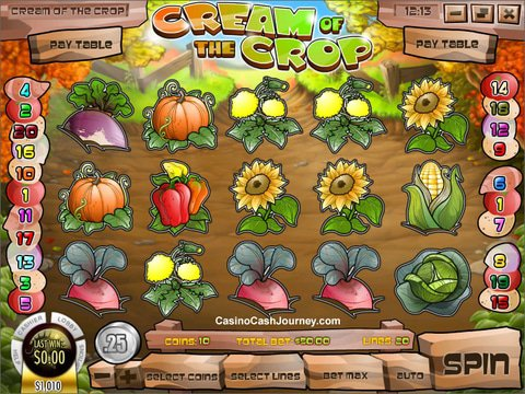 Play Cream of the Crop Slot Machine Free with No Download