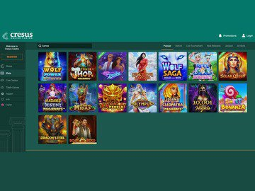 Cresus Casino Software Preview
