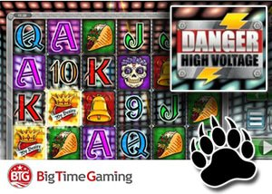new danger high voltage slot big time gaming casinos