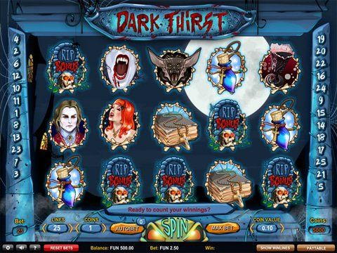 Relax With Dark Thirst Slots With No Download