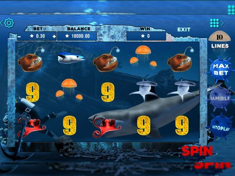 Deep Sea Danger Game Preview