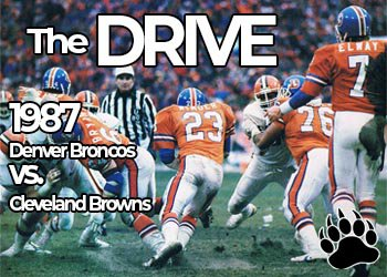 Denver Broncos vs Cleveland Browns - The Drive