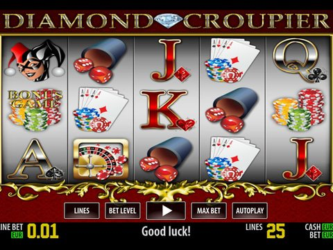 Play Diamond Croupier Slot Machine Free With No Regstration