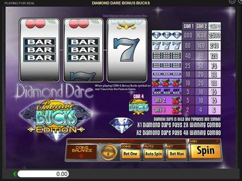 Diamond Dare Bonus Bucks Game Preview