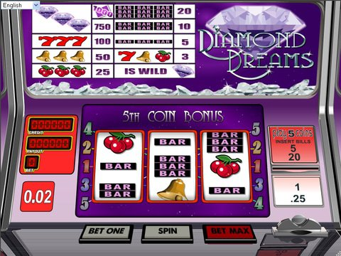 Free Diamond Dreams Slot Machine : A Girl's Best Friend