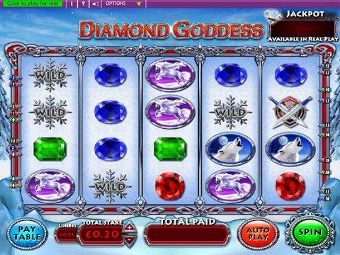 Play Diamond Goddess Slot Machine Free With No Download
