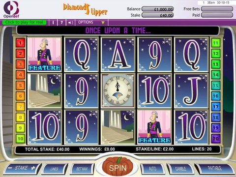 Play Diamond Slipper Slot Machine Free With No Download