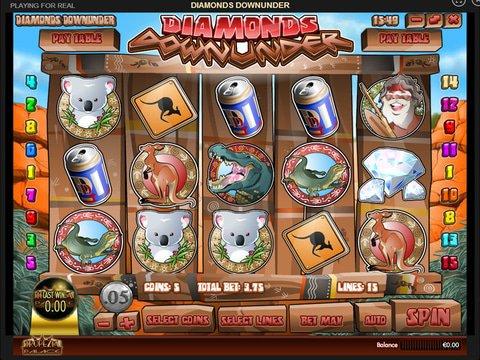 Play Diamonds Downunder Slot Machine Free With No Download