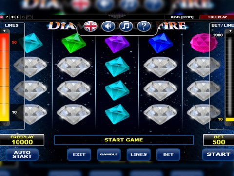 Diamonds on Fire Game Preview