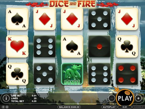 Dice and Fire Game Preview
