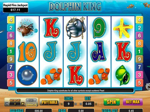 Dolphin King Game Preview