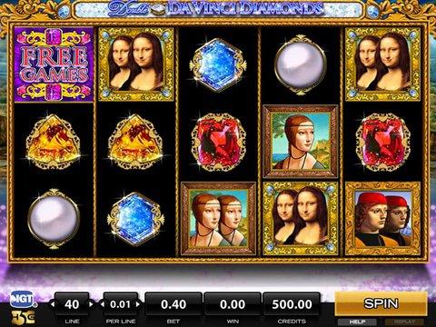 Double Da Vinci Diamonds Game Preview