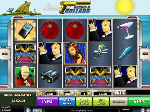 Double-O Dollars Slot Machine Demo
