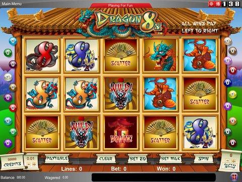 Dragon 8s Slot Machine