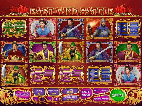 Play East Wind Battle Slots Online Free With No Download Required!
